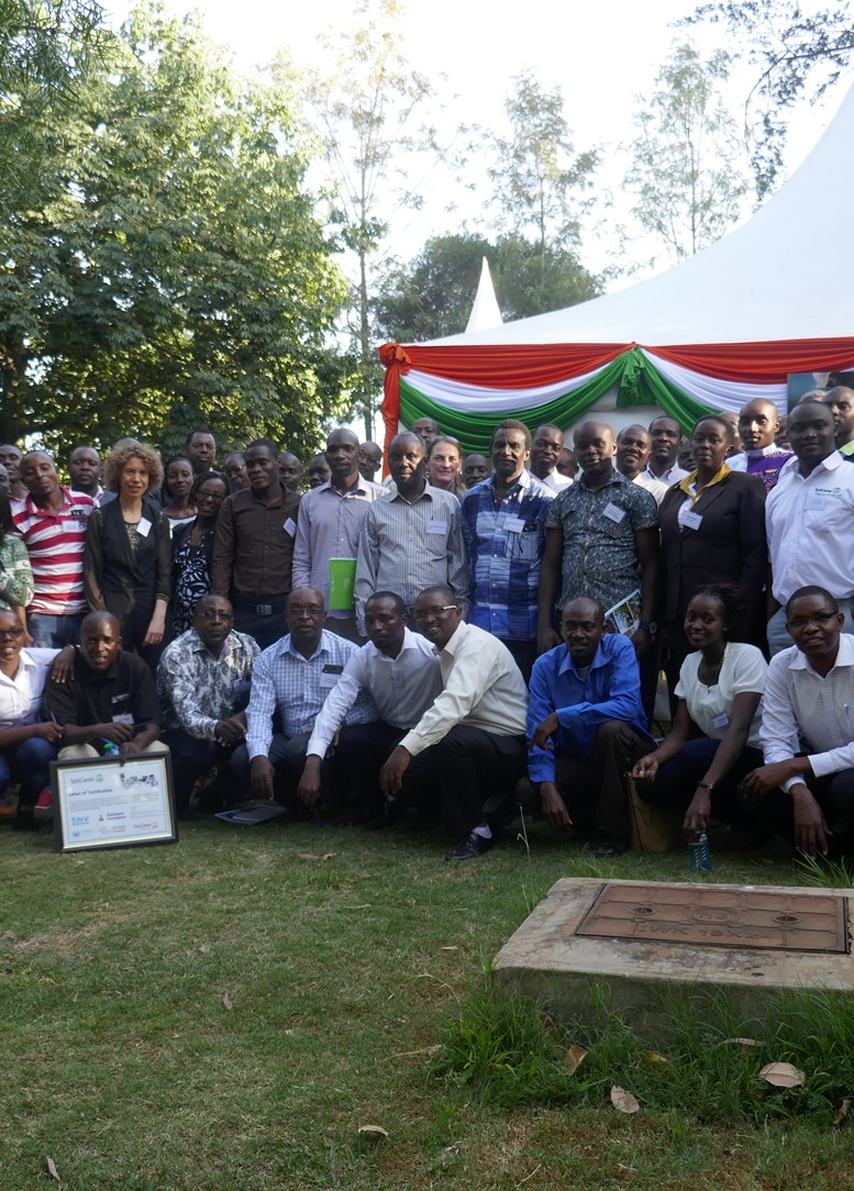 Well-attended second SoilCares Clinic in Nairobi (Kenya)