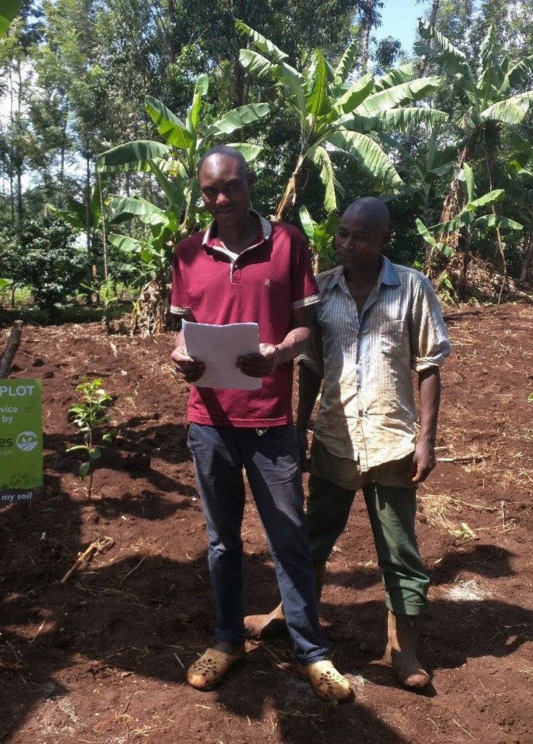 AgroCares soil testing increases yields with more than 25% at equal costs